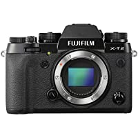 Fujifilm X-T2 Mirrorless Digital Camera (Body Only) (International Model No Warranty)