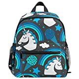 Lightweight Backpack, Unicorn Print Large Capacity Backpack Travel College School Backpack Cycling Hiking Beach Expedition Bag for Kids