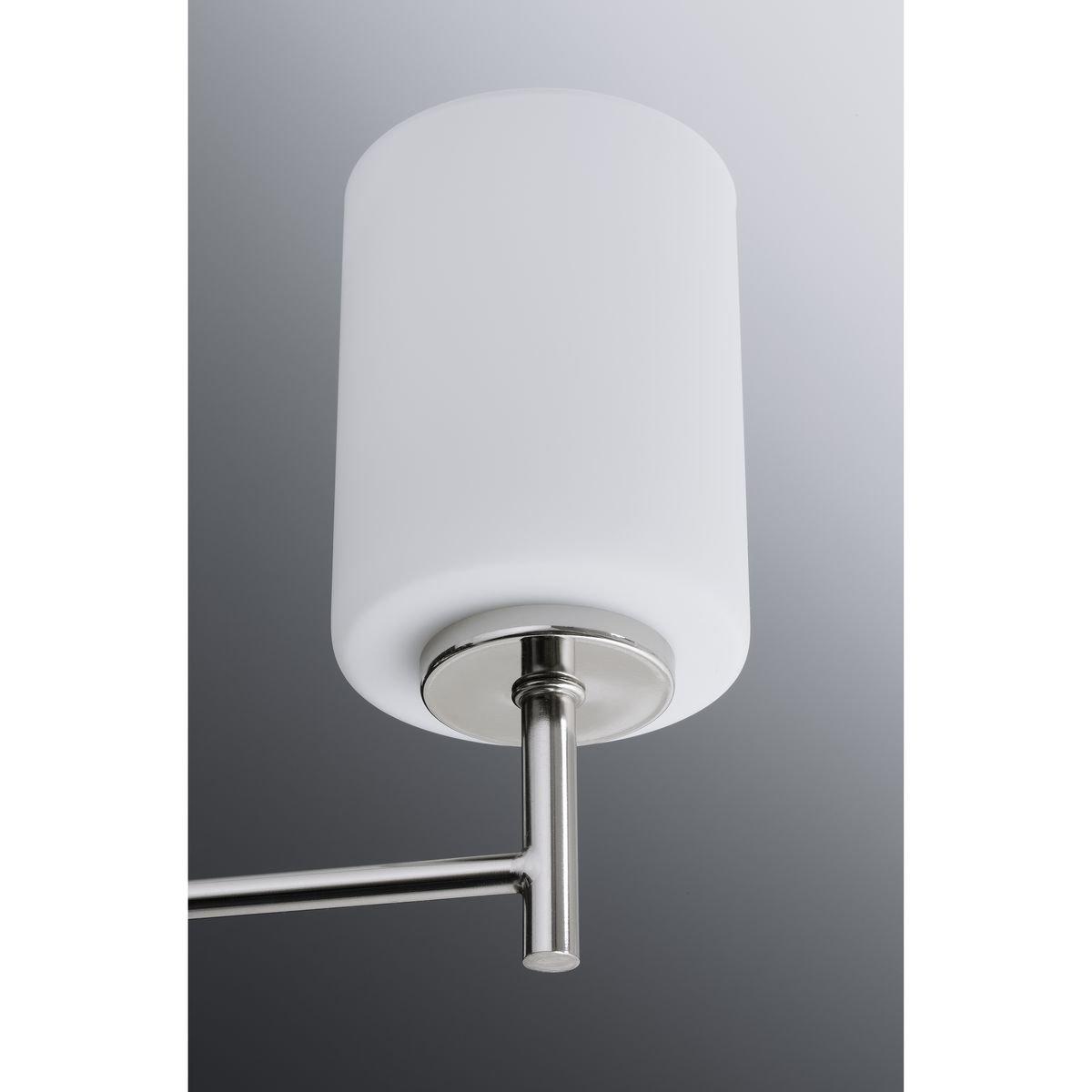 Progress Lighting P2159-09 Contemporary/Soft 3-100W Med Bath Bracket, Brushed Nickel by Progress Lighting (Image #7)