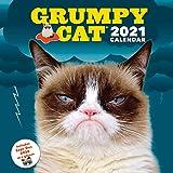 Grumpy Cat 2021 Wall Calendar: (Cranky Kitty Monthly Calendar, Funny Internet Meme 12-Month Calendar)