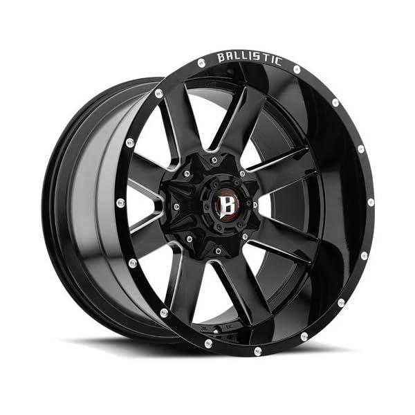 Ballistic-Milled-Rage-956-Wheels-Rims-22×12-Black-6×135-6×55-6×1397-44mm-959222267-44GBX