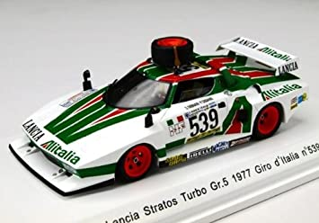 Lancia Stratos Turbo Gr.5 1977 Giro d Italia No539 (Resin casting Model) [Toy] (japan import): Amazon.es: Juguetes y juegos
