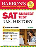 img - for Barron's SAT Subject Test U.S. History, 4th Edition: with Bonus Online Tests book / textbook / text book