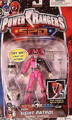 Power Rangers SPD Pink Light Patrol Power Ranger (Power Rangers Light Spd)