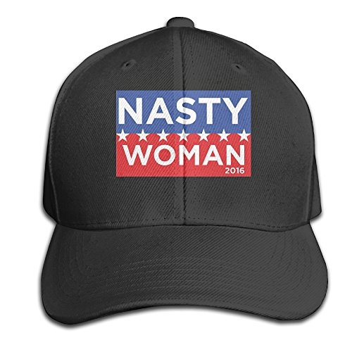 Cool Unisex Im A Nasty Woman Baseball Caps Hip Hop Hat Funny Black