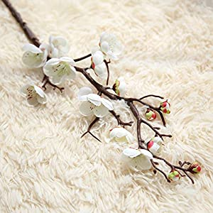 Artificial Silk Fake Flowers Plum Blossom Floral Wedding Bouquet Party Decor WH 22