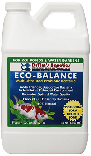 DrTim's Aquatics Eco-Balance Multi-Strained Probiotic Bacteria for Koi Ponds