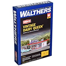 HO Scale Walthers Vintage Dairy Queen Building Kit for Model Train Layout