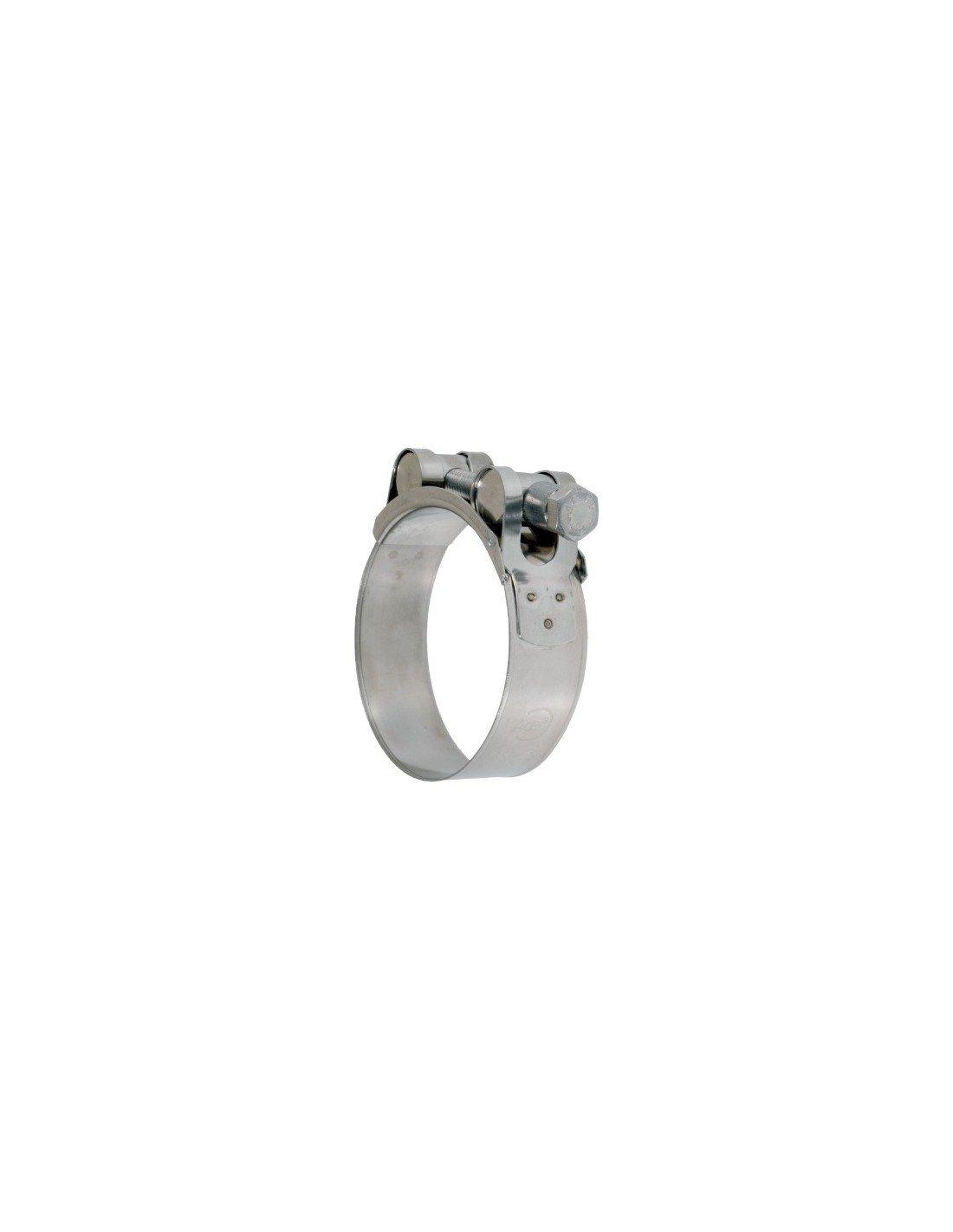 Collier à tourillons inox W4 Ace - Diamètre 104 - 112 mm - Vendu par 1 Bricodeal