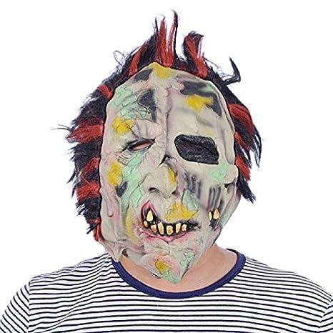 Máscara de Halloween de Terror y Zombie para la Cabeza ...