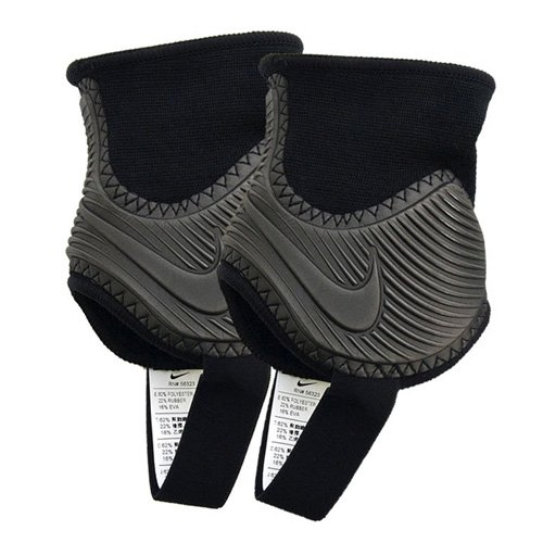 Nike Ankle Shield Guard 2.0 Tobillera, Unisex Adulto, Negro/Blanco Black/White, Talla Única: Amazon.es: Zapatos y complementos