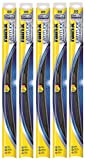 "Rain-X 5079282-2-5PK Latitude 2-IN-1 Water Repellency Wiper Blade, 28"" (Pack of 5)"