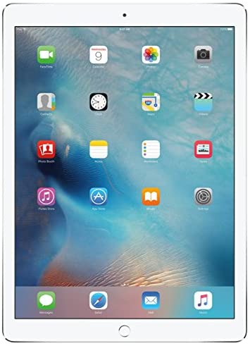 Apple iPad Pro (128GB, Wi-Fi + Cellular, Silver) – 12.9in Display (Renewed)