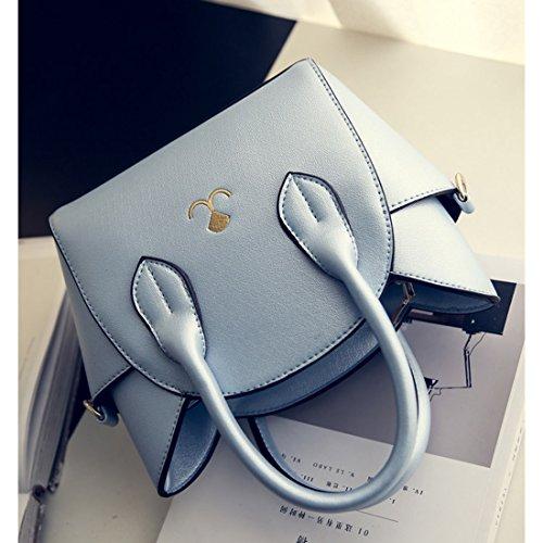 Top Fashion Women's Cross Blue Bag Cute Body UniM Handle Shoulder Cat UTPqE