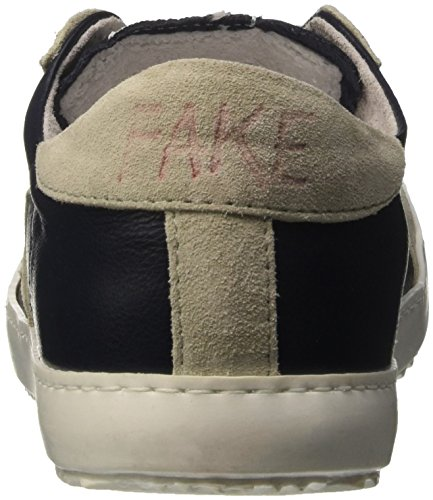 F Fake Mixte 836 Nero Adulte Chaussures Chiodo Low Basses Tortora Noir By wp0aprqxt