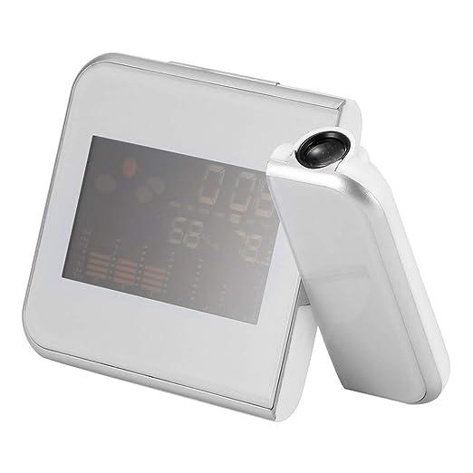 Winbang Reloj Despertador de proyección, Reloj de proyector ...