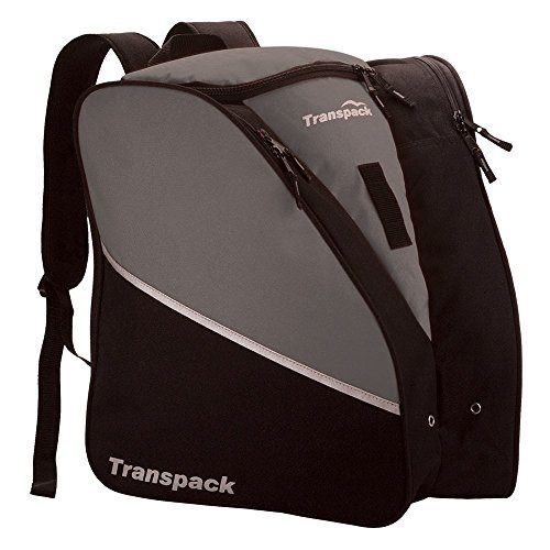 Transpack Edge Ski Boot/Gear Bag Backpack ~ Gray (Best Ski Gloves 2019)