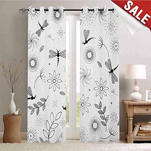 Dragonfly, Decor Curtains by, Ethnic Bohem Inspired Flying