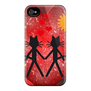 Faddish Phone Cat Kittycat Love Cases For Iphone 6 / Perfect Cases Covers