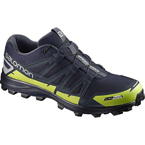 Salomon Speedspike CS Running Shoes – Navy Blazer, Reflective Silver, Lime Punch – Mens – 9 Review
