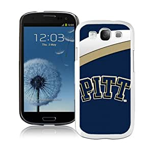 Beautiful Samsung Galaxy S3 Case ,Unique And Lovely Designed With NCAA Atlantic Coast Conference ACC Footballl Pittsburgh Panthers 1 White Samsung Galaxy S3 Phone Case