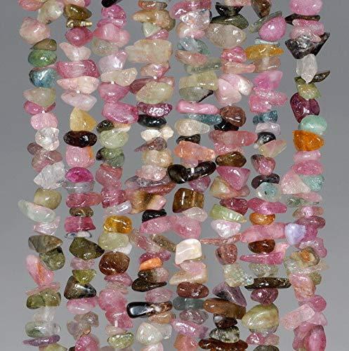 5-6MM Tourmaline Gemstone Pebble Nugget CHIP Loose Beads 16