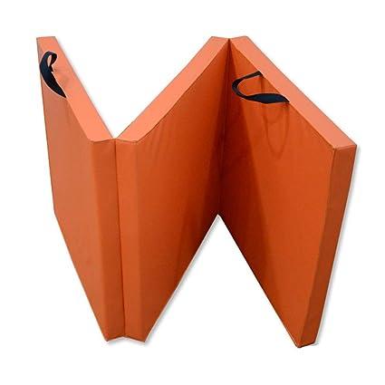 Yoga deportivo Colchoneta plegable gruesa de tres pliegues ...