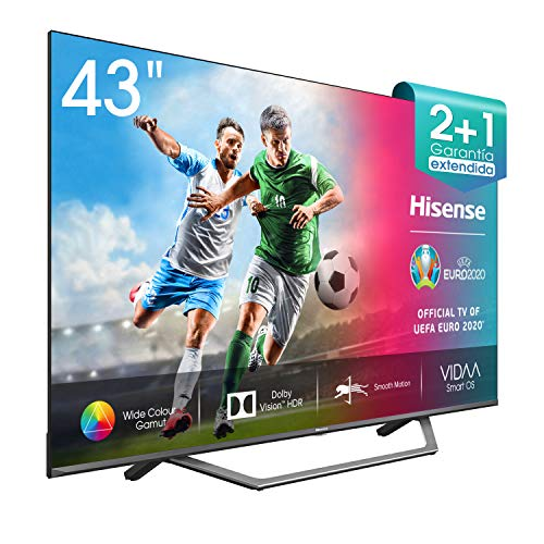 Hisense 43AE7400F UHD TV 2020 – Smart TV, Resolución 4K, Dolby Vision, Wide Color Gamut, audio DTS Virtual-X, Ultra…