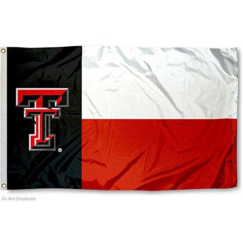 Texas Tech Red Raiders Texas State (Texas Tech Flag)