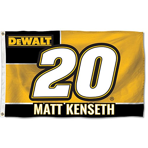Matt Kenseth #20 2017 NUMBER Version 3x5 Flag Outdoor House Banner Nascar Racing