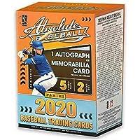 $39 » 2020 Panini Absolute Baseball BLASTER box (10 cards incl. ONE Memorabilia or Autograph card)