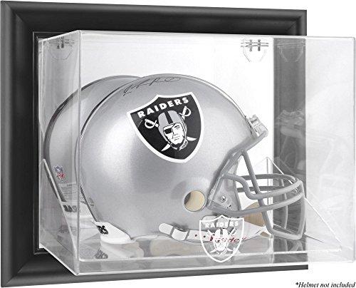 Raiders Logo Display Case - Mounted Memories Oakland Raiders Wall Mounted Helmet Display - Oakland Raiders One Size