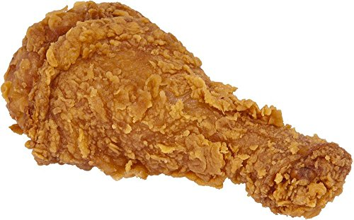 LAMINATED 30x18 inches POSTER: Food Eat Diet Fried Chicken Leg