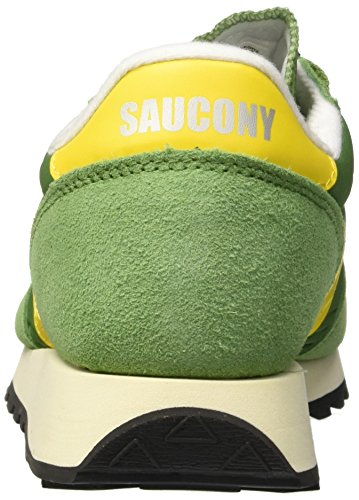 Saucony Men's Jazz Original Vintage Gymnastics Shoes Green (Tree/Yel 17) YGizrgxyu