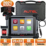 Autel MaxiSys CV MS908CV Diesel Heavy Duty & Truck Diagnostic Scanner, 2021 Newest plus MV108 (Valued $59), All System Diagnosis Tool, Bi-Directional Control, 25 Services, 23 Adaption Functions