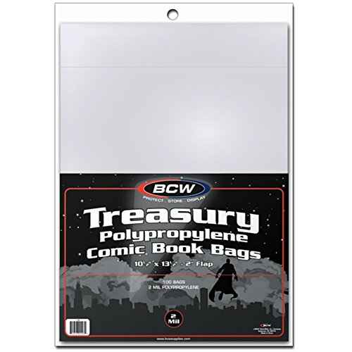 BCW 1-TB Treasury Comic Book Cover Bags