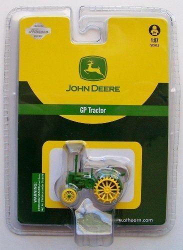 Athearn HO Scale RTR Diecast John Deere Tractor GP