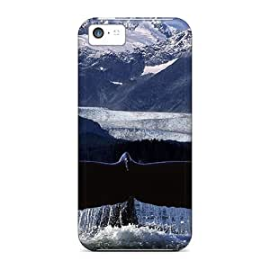Tough Iphone ZZGqaIV2693 Case Cover/ Case For Iphone 5c(whale Fluke)