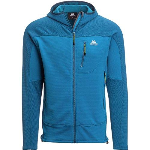 Mountain Equipment Croz Hooded Fleece Jacket - Men's Lagoon Blue, XL