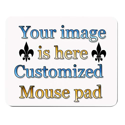 - Custom Mouse Pad - Personalized Mouse Pad,Customized Mouse Pad,Design Mouse Pad, Rectangle Mousepad Non-Slip Rubber Mouse Pads Gaming Office Mousepad