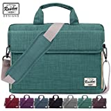 Laptop Bag 15-15.6 inch Rawboe Oxford Fabric Portable Laptop Sleeve Case for Men/Women Messenger Bag for Apple MacBook Pro /Dell /Lenovo /HP Samsung with Shoulder Strap and Multiple Pockets - Green