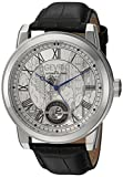 Gevril Washington Men's Swiss Automatic Black Leather Strap Watch, (Model: 2620L)