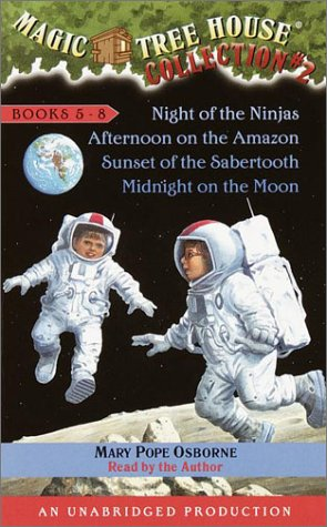 Magic Tree House Boxed Set 2, Books 5-8:  Night of the Ninjas, Afternoon on the Amazon, Sunset of the Sabertooth, and Midnight on the Moon - Book  of the Magic Tree House