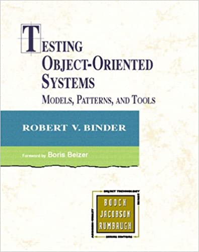 Testing Object-oriented Systems: Models, Patterns, And Tools por Robert Binder epub