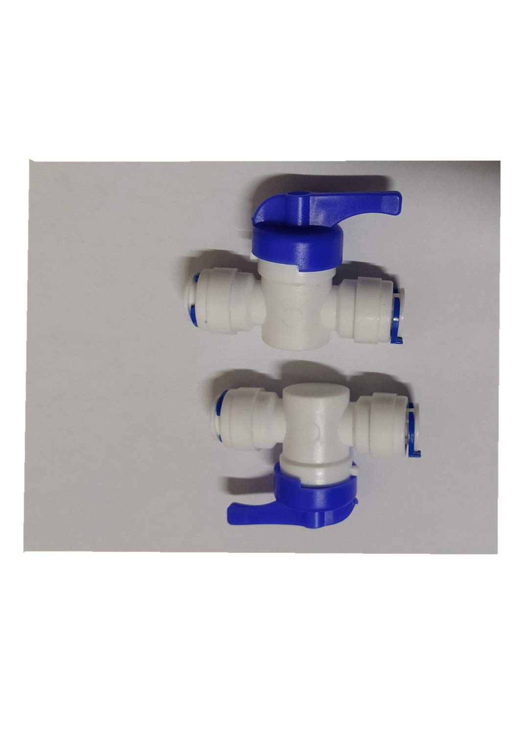 1//4 OD Inline Shutoff Ball Valve CUIWEI 1//4 OD Quick Connect Push in to Connect Water Tube Fitting