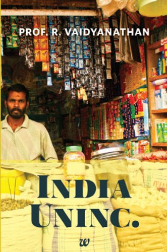 Amazon: India Uninc. (Paperback) by Prof. R. Vaidyanathan @ Rs 79 (80% OFF)