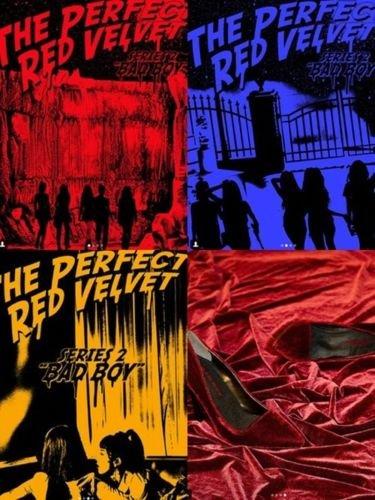 Red Velvet - [The Perfect Red Velvet] 2nd Repackage CD+Booklet+PhotoCard K-POP Sealed