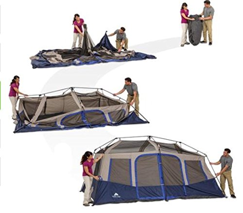 Ozark Trail 10 Person 2 Room Instant Cabin Tent Buy