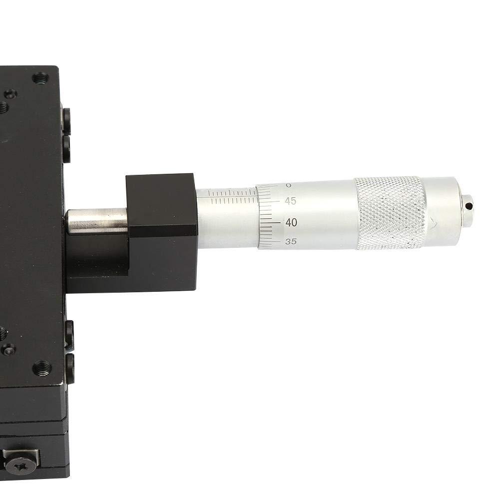 SEMY100-AC Micrometer Manual Slide Table Trimming Platform Cross Roller Stages 10010040mm Trimming Platform
