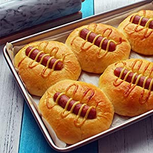1 piece 1Pcs Baking Pan Non-stick Carbon Steel Cookie Sheet Pan FDA Approved for Oven Roasting Meat Bread Jelly Roll Battenberg
